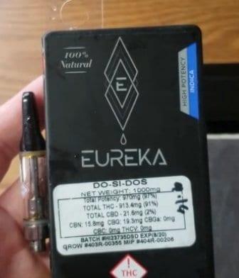 Eureka Vapor cartridge