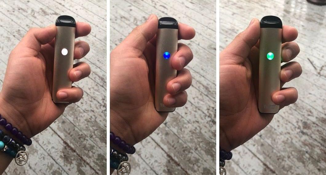 yocan evolve 2.0 temperature settings