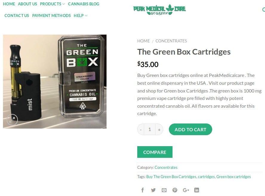 Peak_Medical_Care_Green_Box