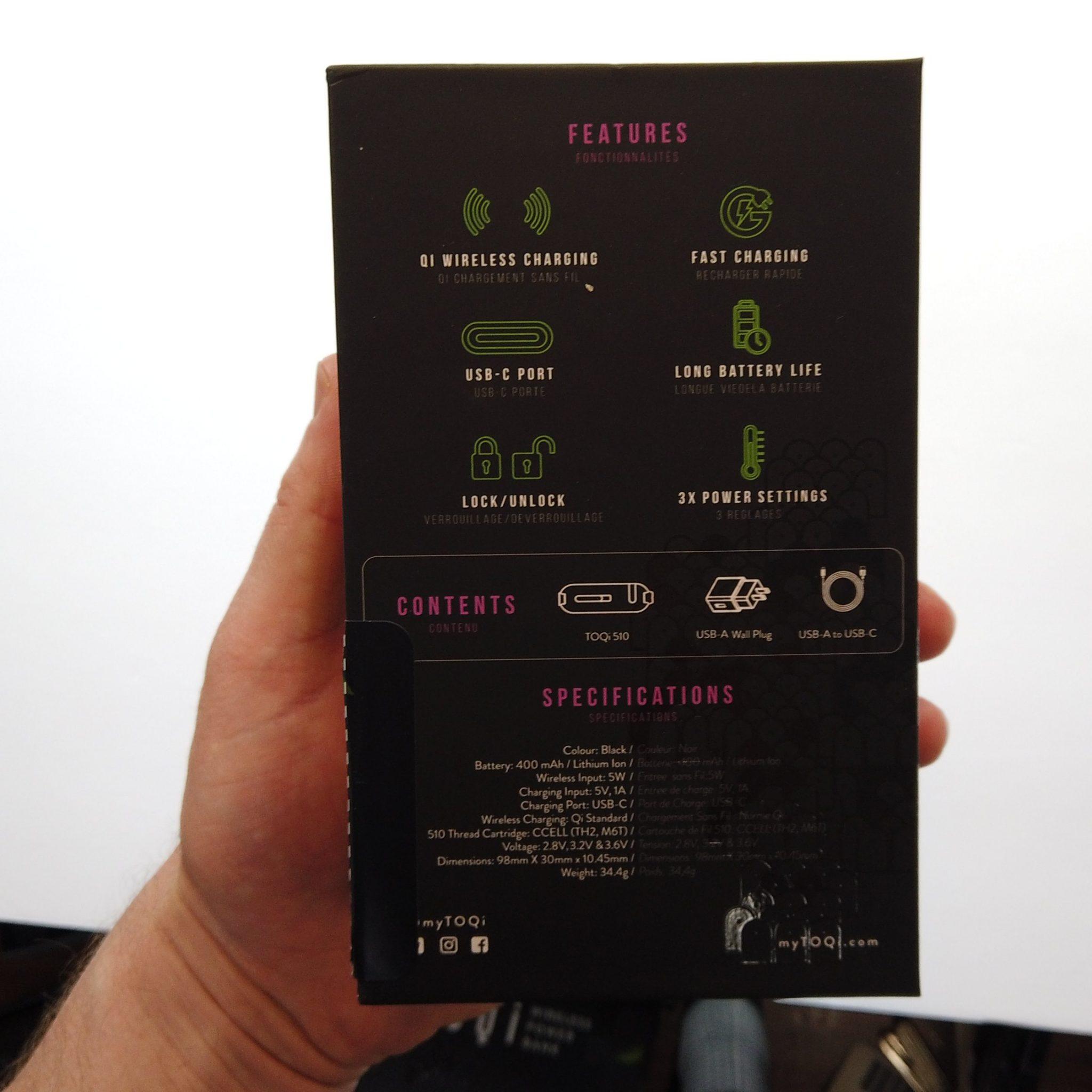 TOQi 510 packaging 2