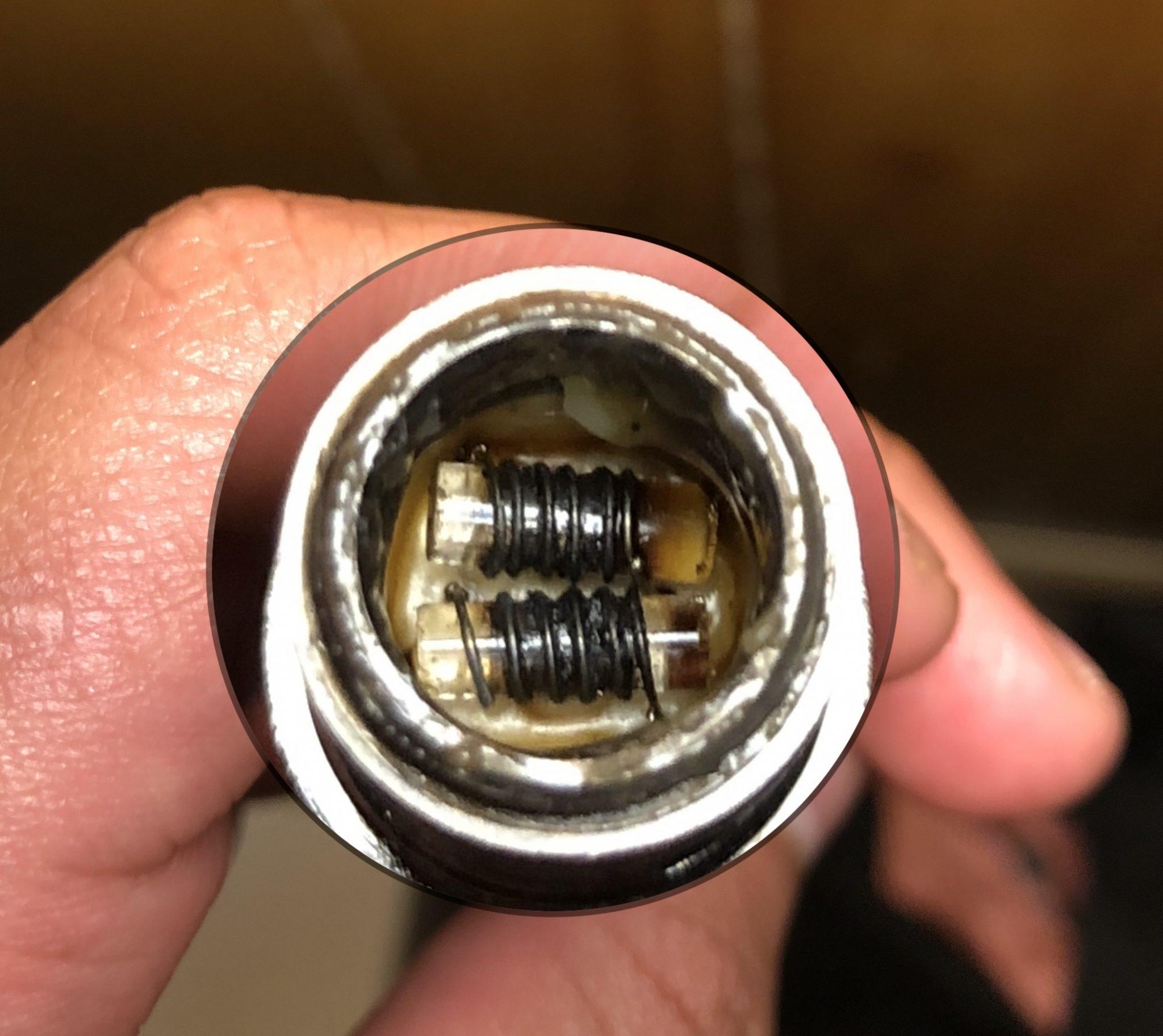 dual quartz coil