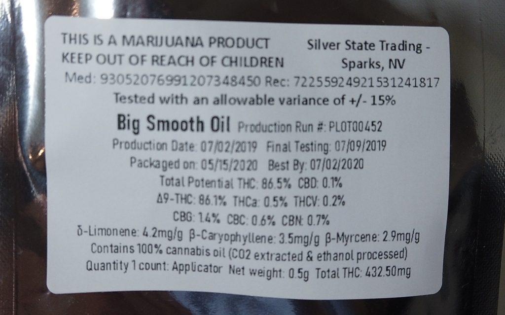envy big smooth oil
