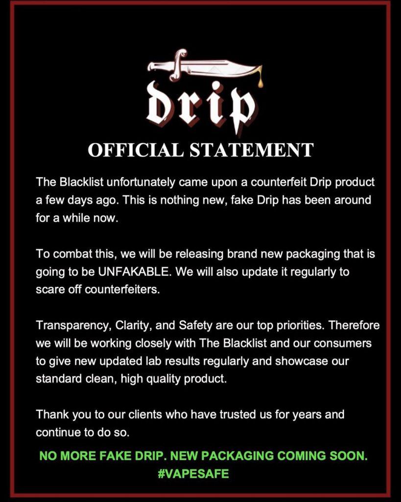 GetDrip_official_statement