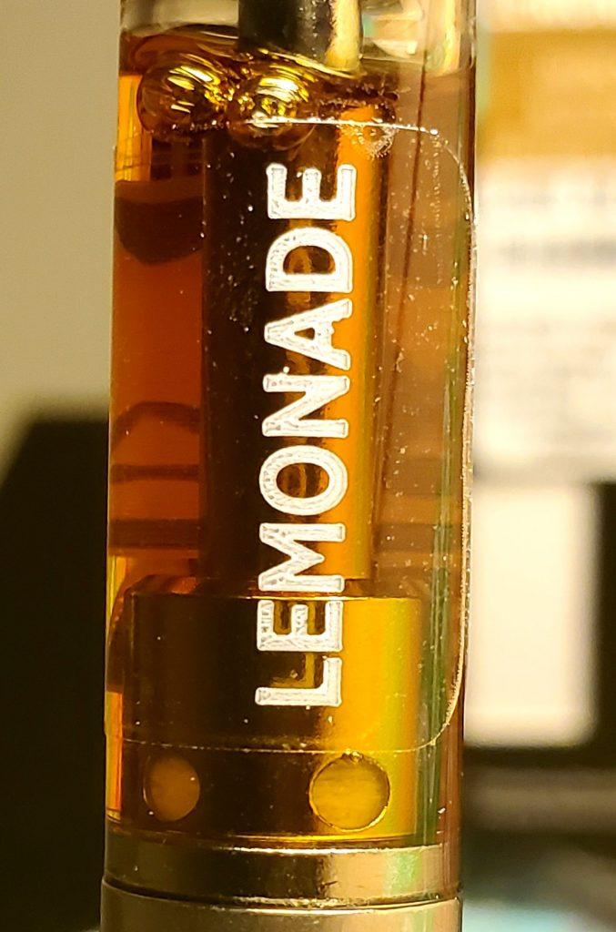 abx cart lemonade close up
