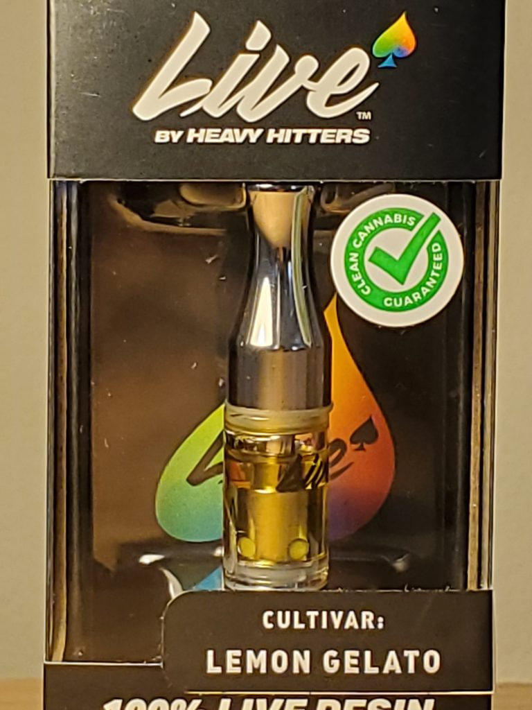 heavy hitters live resin cart