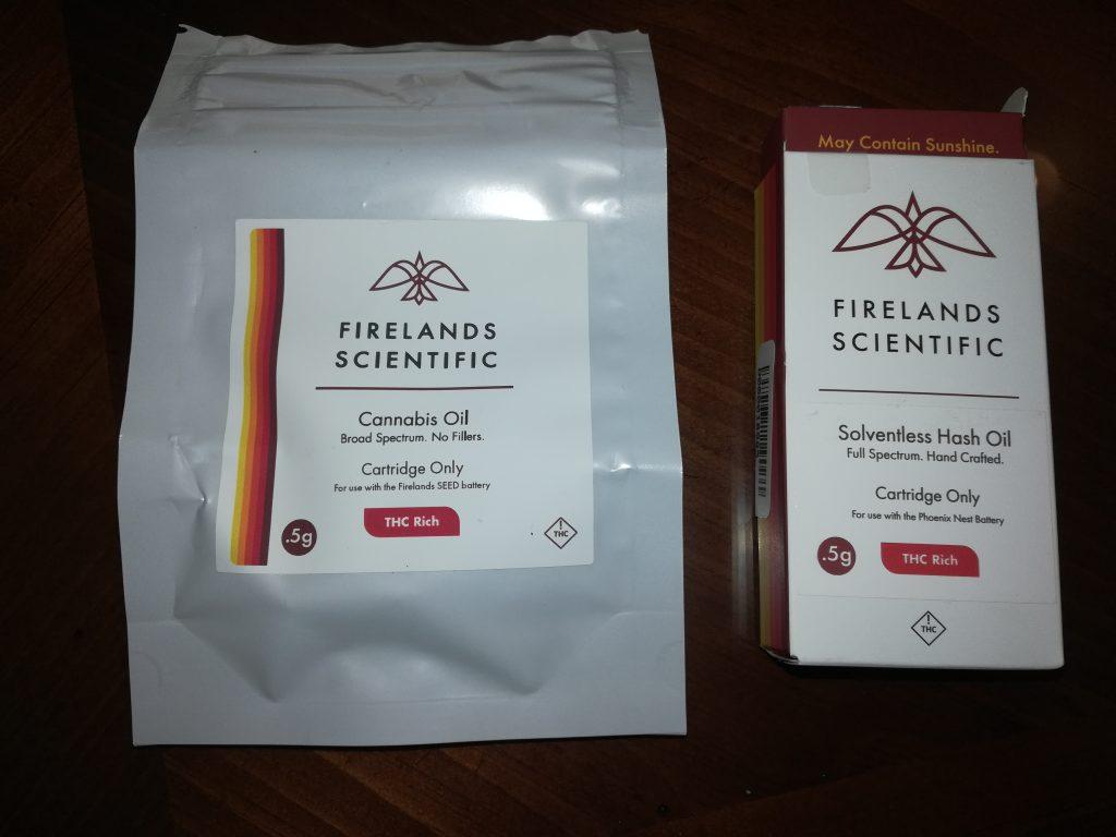 firelands scientific packaging