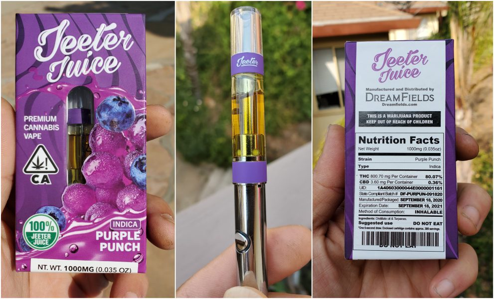 jeeter juice cartride review