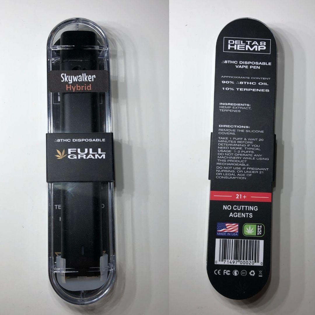delta8 hemp disposable
