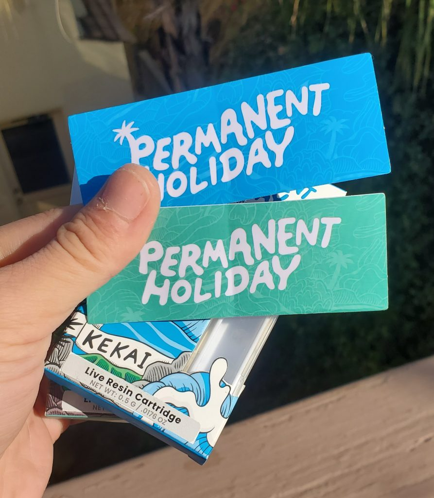 permanent holiday stickers