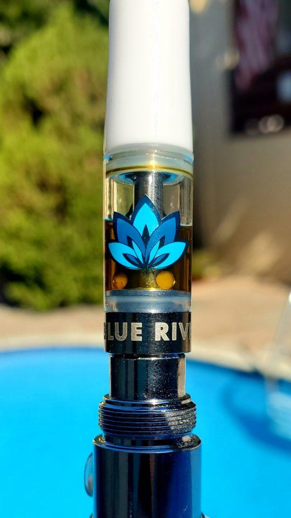 blue river jelly sauce cart close up