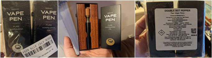 buckeye relief vape pen review