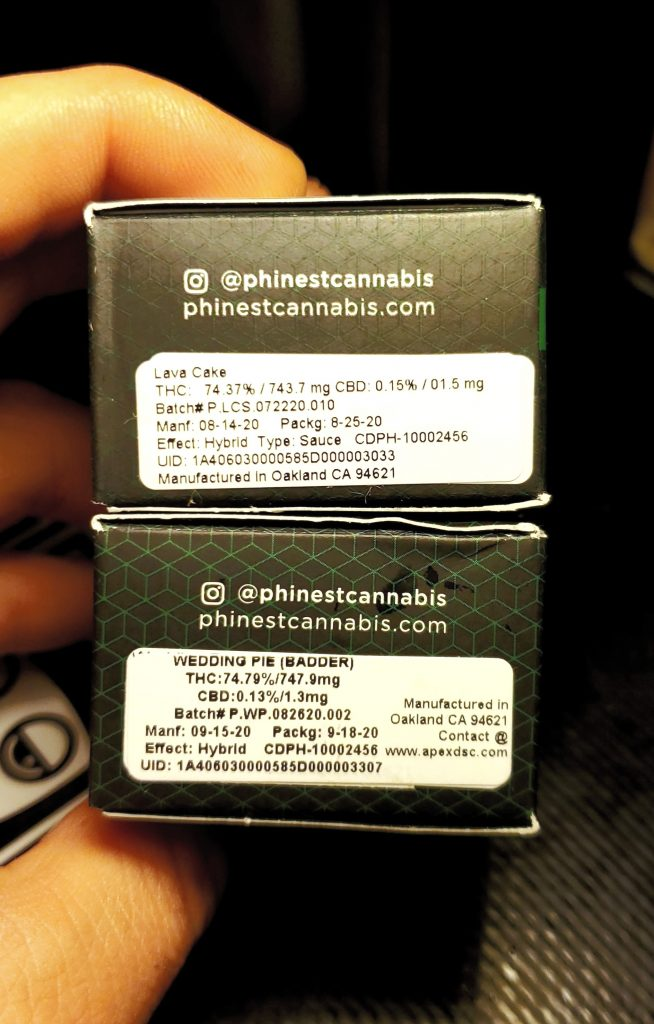 phinest cannabis back box