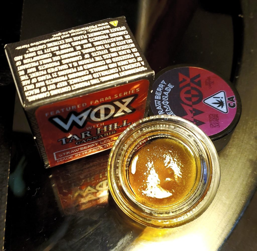 wox strawberry lemonade set up