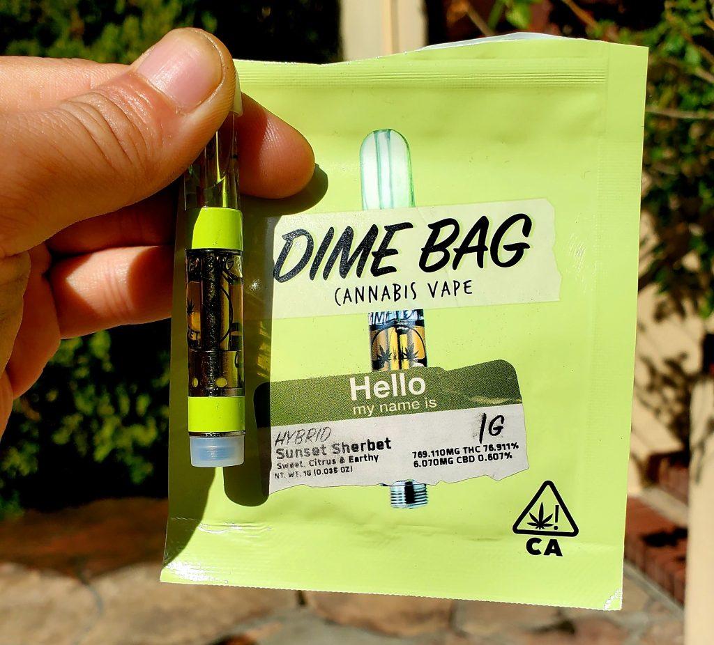 dime bag cartridge packaging