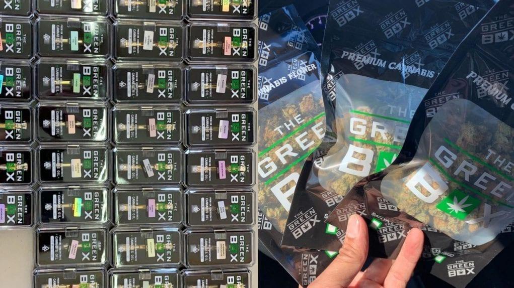 green box carts