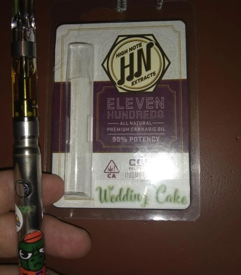 high note extracts cart