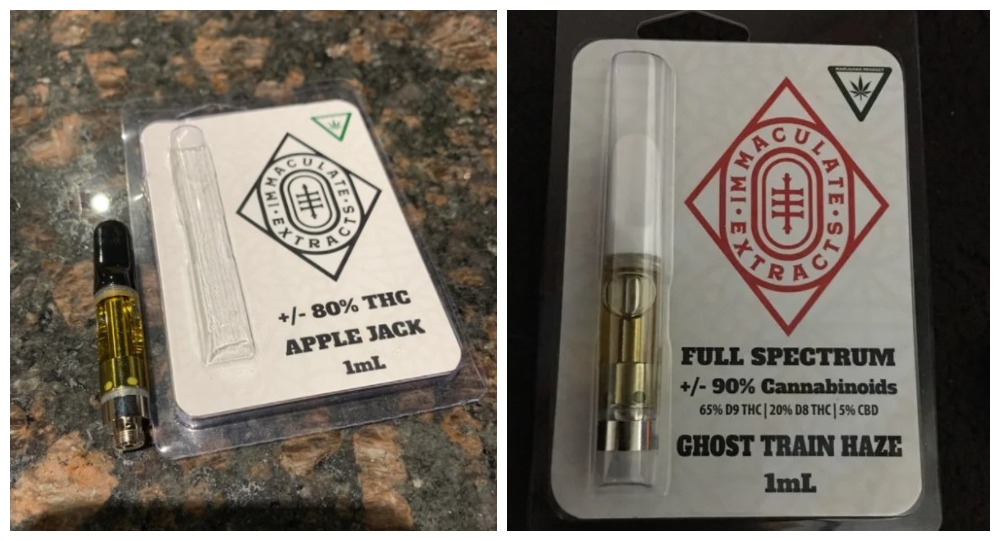 immaculate extracts carts