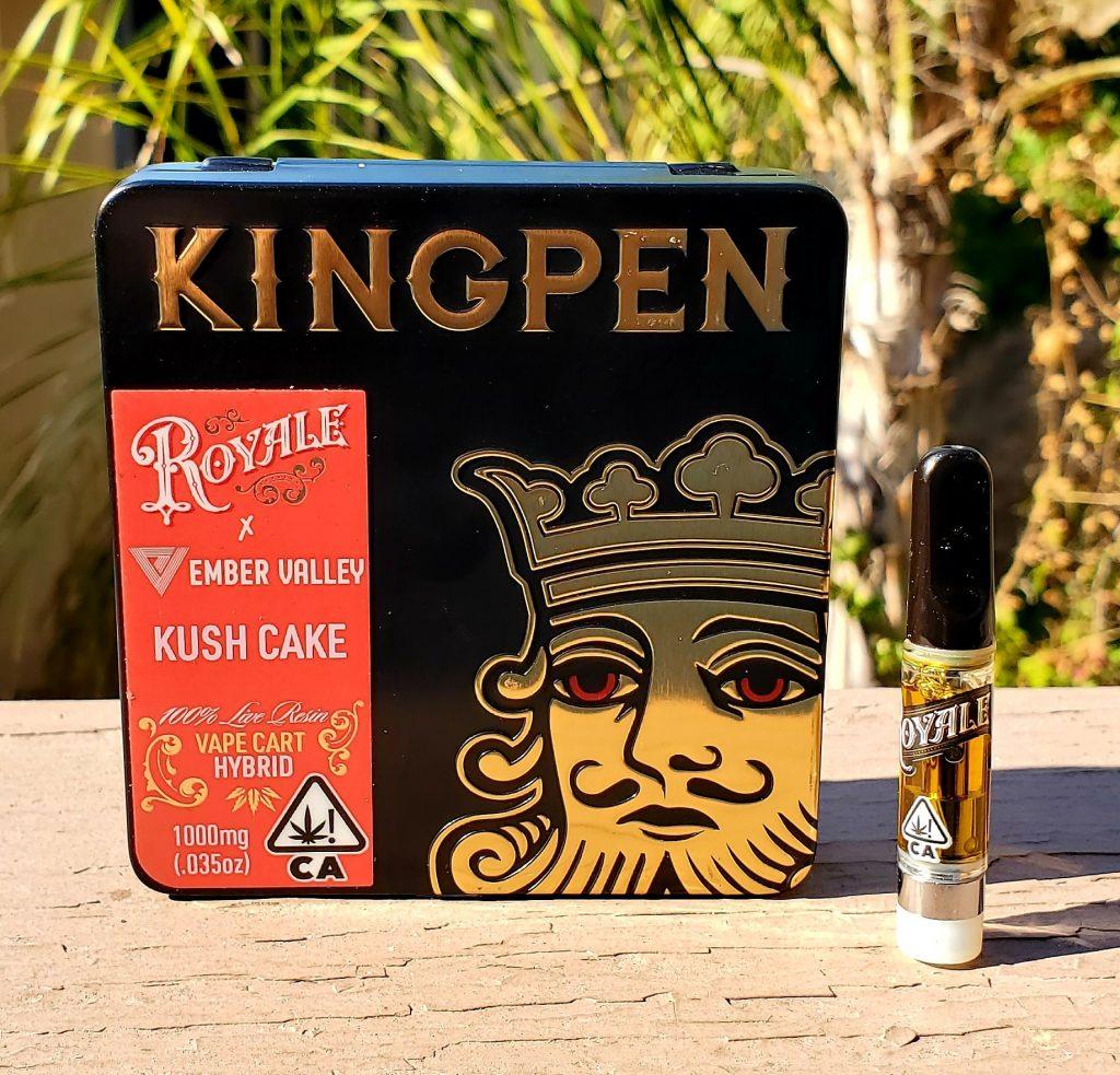 kingpen live resin box front