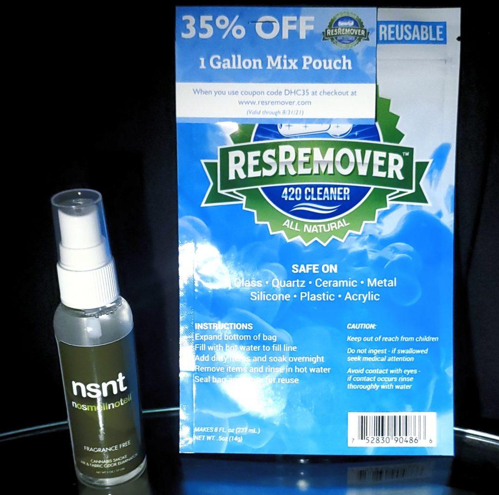 Daily high club 420 cleaner spray