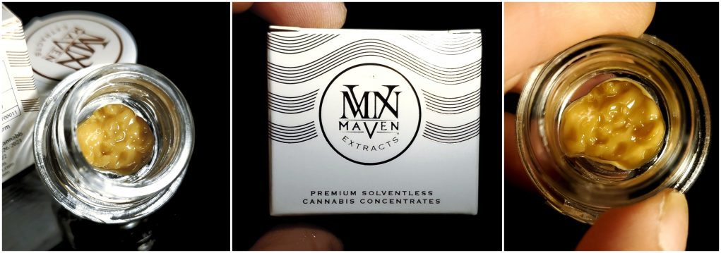 maven extracts live rosin review