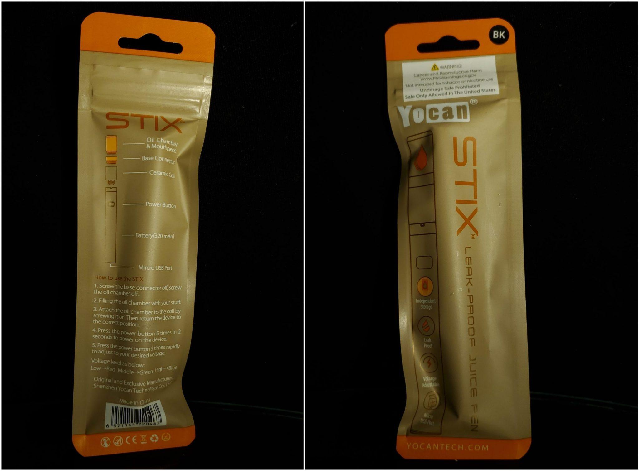 yocan stix pack