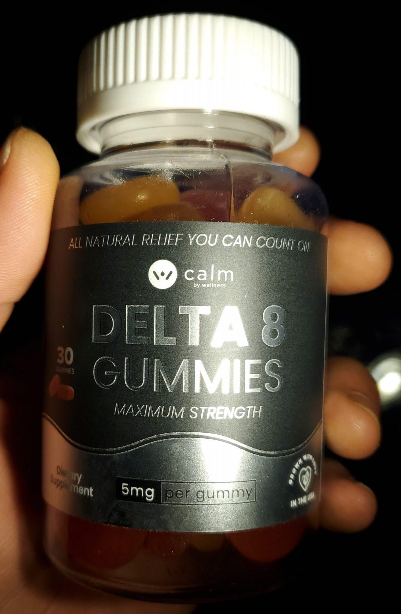calm by wellness bottle
